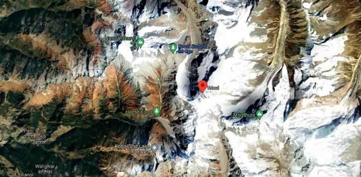 Mount Trishul