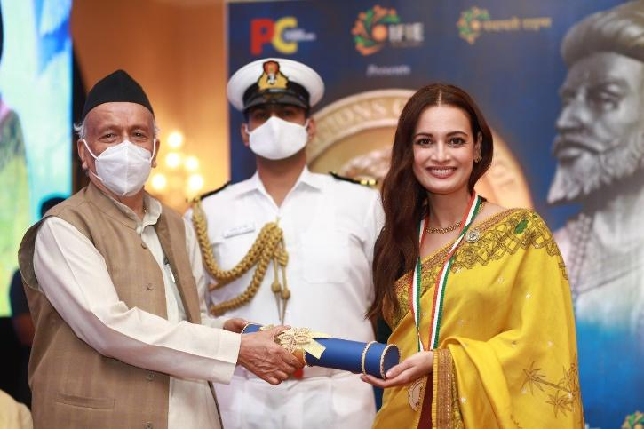 Dia Mirza Honoured With