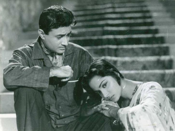 Dev Anand and Waheeda Rehman.