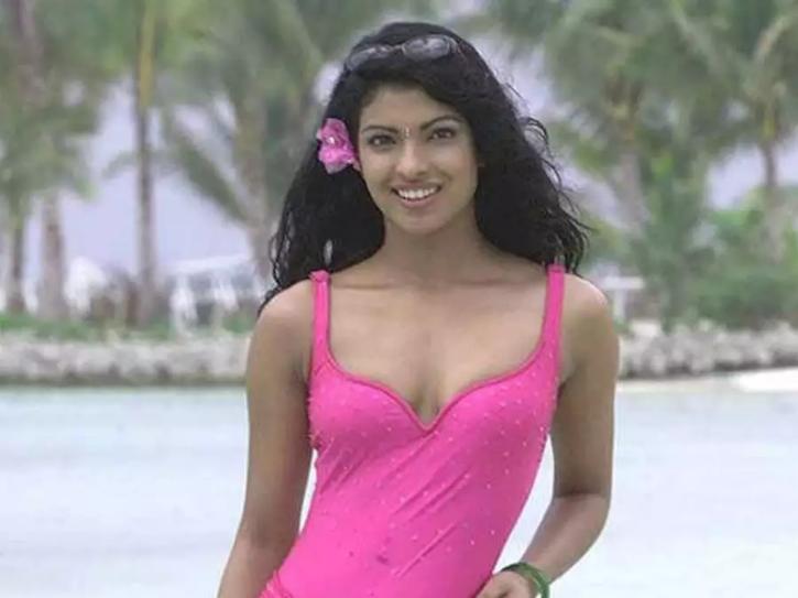 Priyanka Chopra in her early days in the industry.
