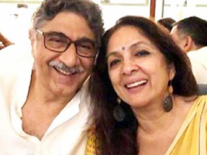 neena gupta and husband Vivek Sharma