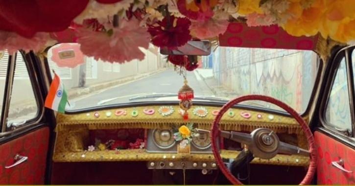 red black car: SBS hindi