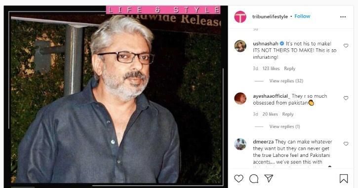 Ushna Shah on Sanjay Leela Bhansali