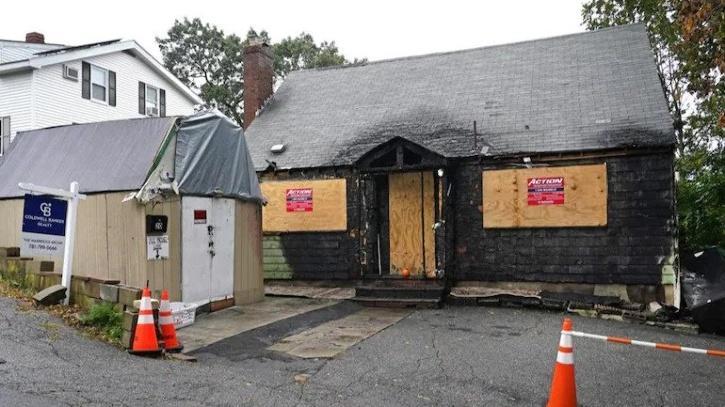 Burned house in Massachusetts on sale for Rs 2.95 crore