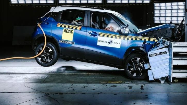 Tata Punch receives 5-star safety rating in Global NCAP crash test