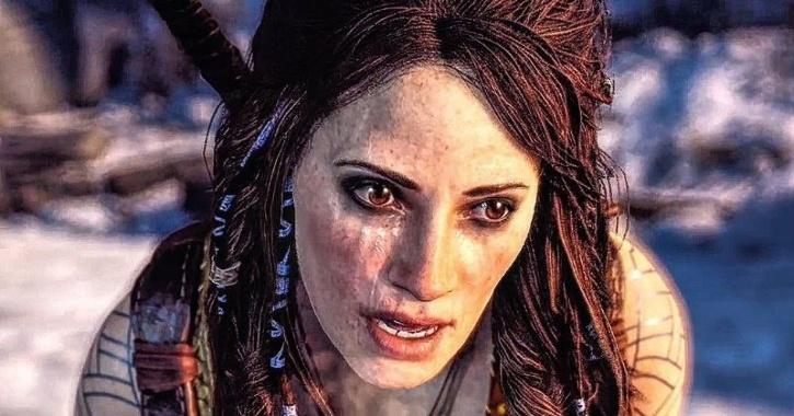 Freya in God Of War 4