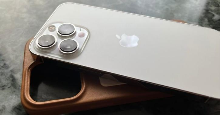 iPhone 13 Pro rear camera panel