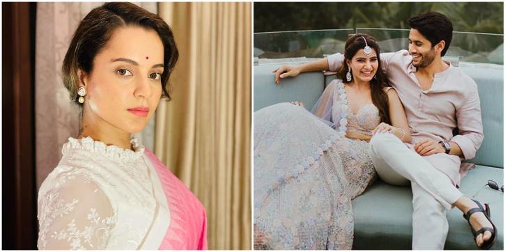 Kangana Ranaut Slyly Blames Divorce Expert Aamir Khan for Naga Chaitanya and Samantha Ruth Prabhu