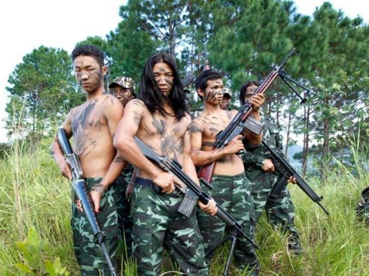 kuki tribal insurgents