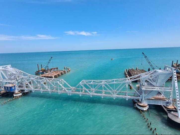 The bridge will allow the Indian Railways to operate trains at a higher speed with more weight. It will also increase traffic between the mainland of Pamban and Rameswaram.