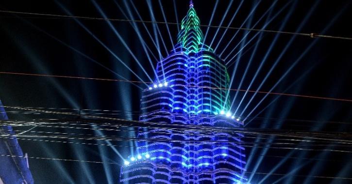 burj khalifa pandal