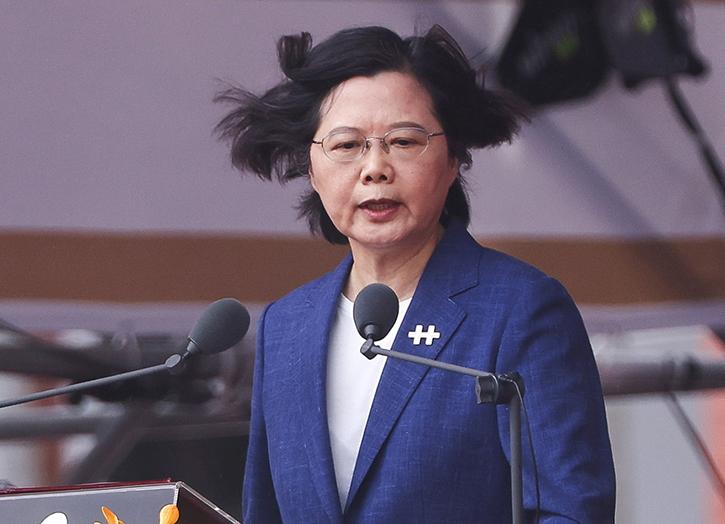 Taiwan presidet Tsai Ing-wen