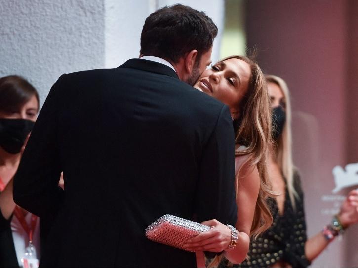 Jennifer Lopez and Ben Affleck at 78th Venice Film Festival.