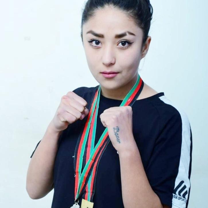 Seema Rezai Afghan Boxer