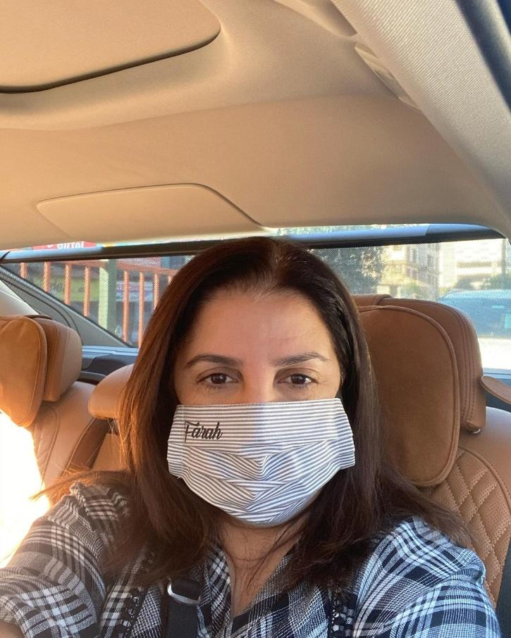 Despite getting both doses of vaccine, Filmmaker-choreographer Farah Khan Kunder shared that she has tested positive for COVID-19.