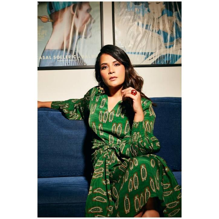 In March 2021, Richa and her rumored beau Ali Fazal announced the launch of their production house Pushing Buttons Studios.