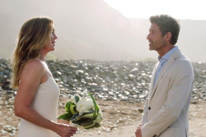 Among those that returned was Patrick Dempsey as Derek Shepherd, T.R. Knight as George O
