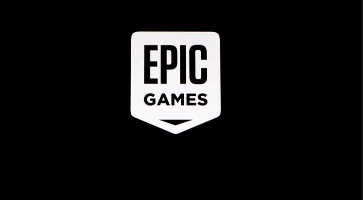 Epic Games logo is pictured here