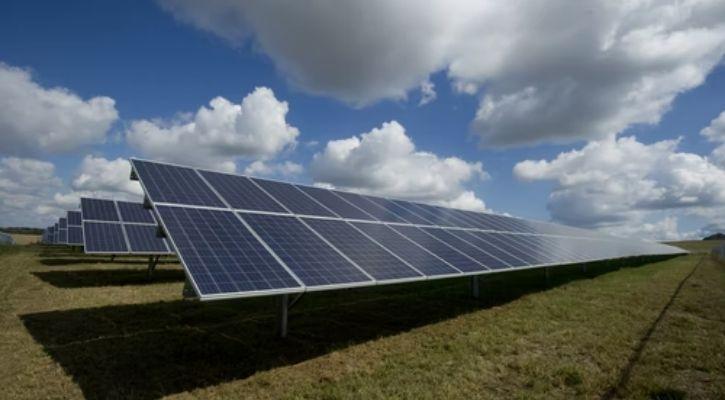 Solar energy array picture