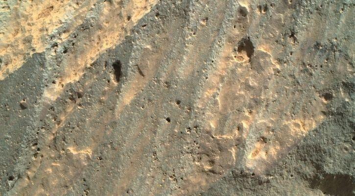 rocce scavate dalla NASA