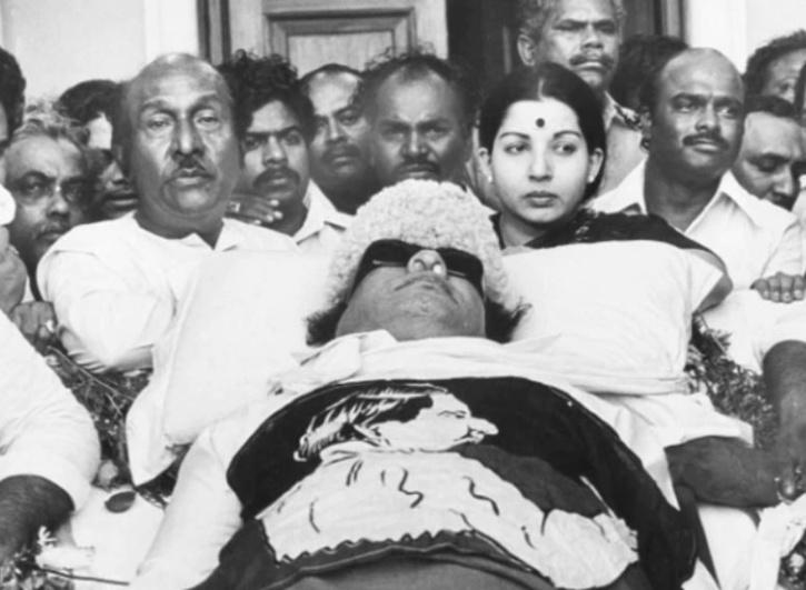 MGR and Karunanidhi subsequently parted ways in 1972, with the former announcing the formation of the AIADMK.
