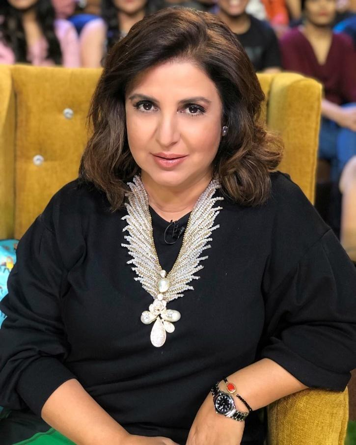 Choreographer-Director Farah Khan shared the news on Instagram with a message full of hope.