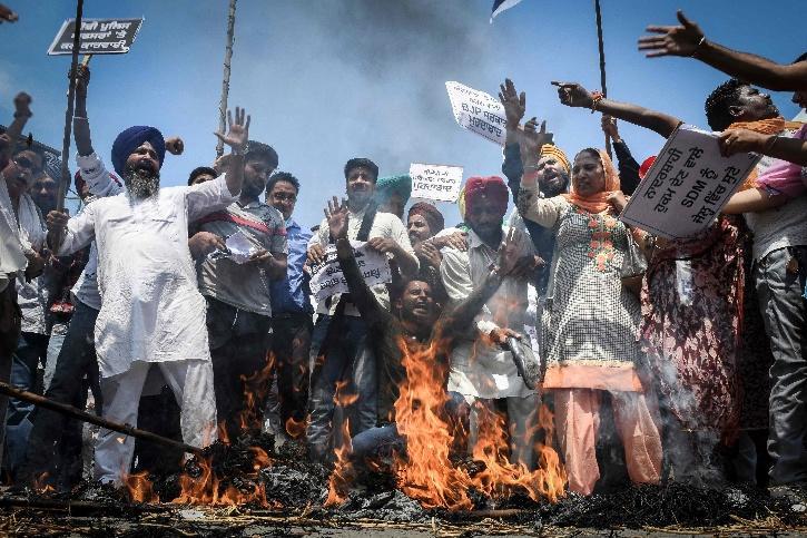 Karnal Farmers Protest