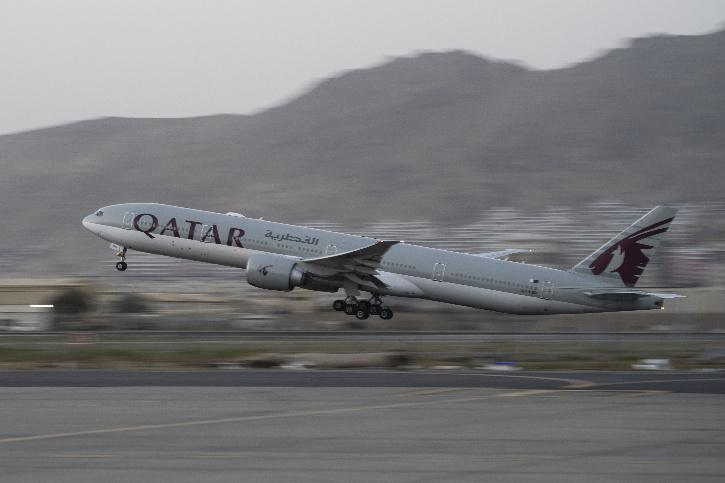 Qatar Airways flight to Doha From Kabul Airport