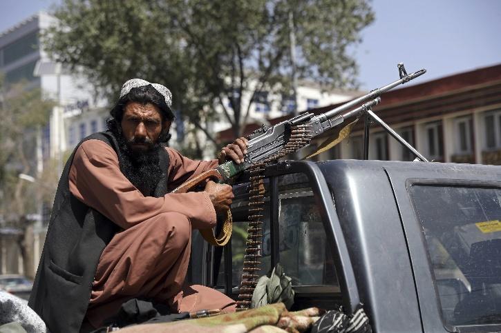 A Taliban gunman in Kabul