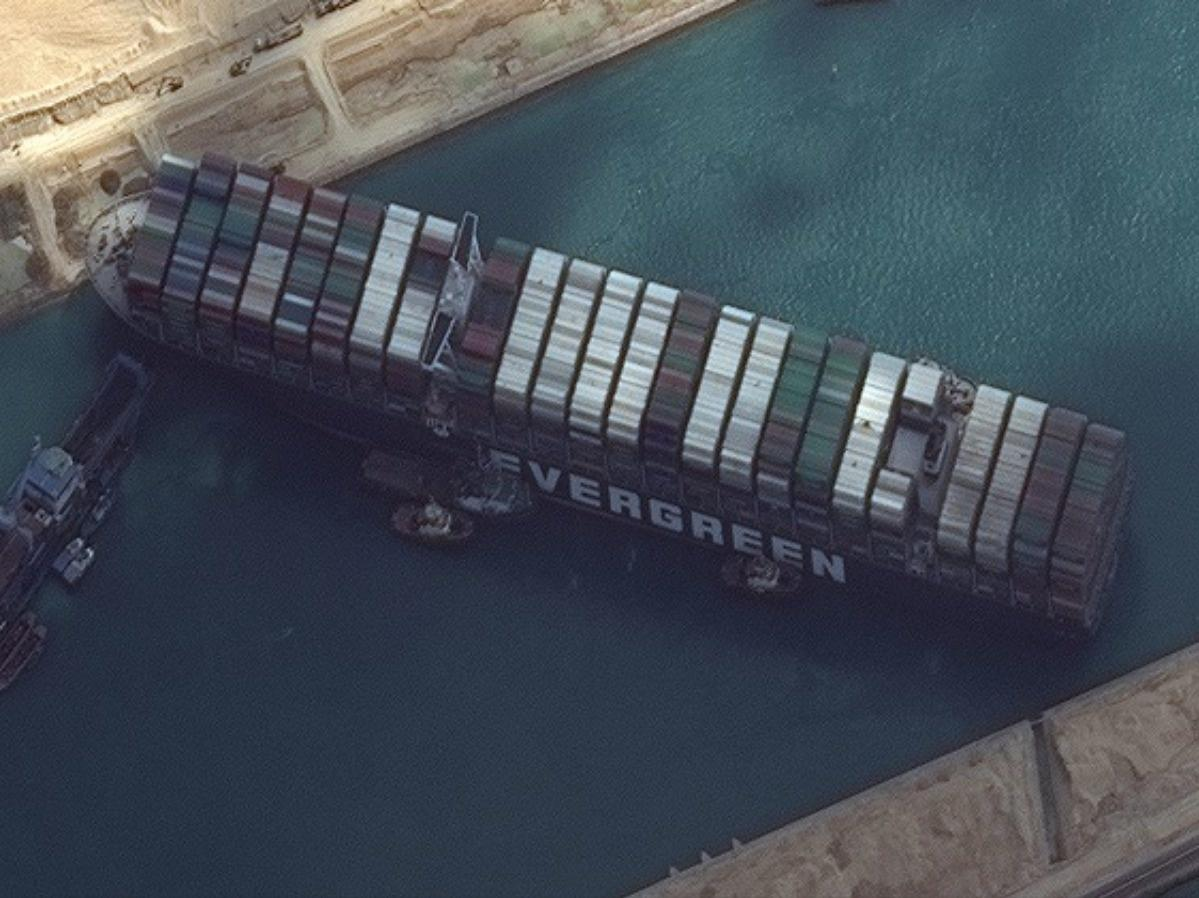The Suez Canal Got Blocked By A Big Ship