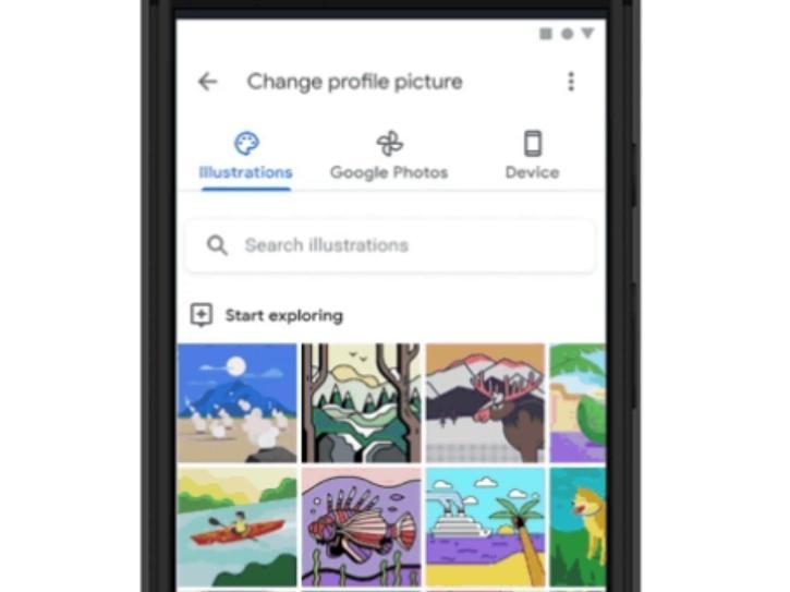 Google profile customization