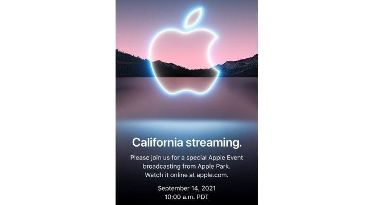 iphone 13 event invite