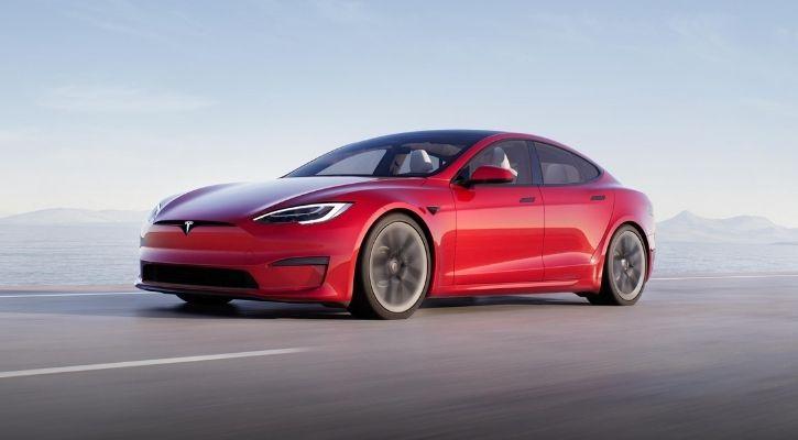 Tesla model s plaid India