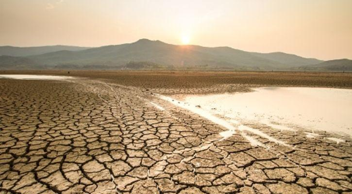 dry parched land picture representing climate change