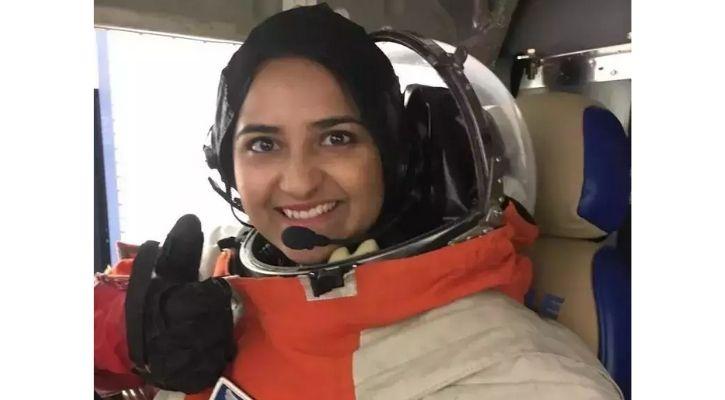 indian female astronaut