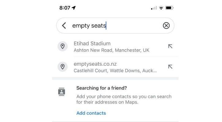 empty seats etihad man city