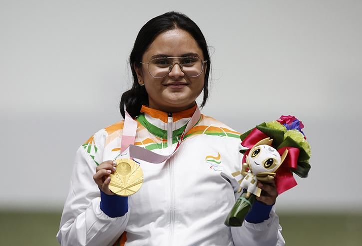 Avani Lekhara won Gold for Indian in Women