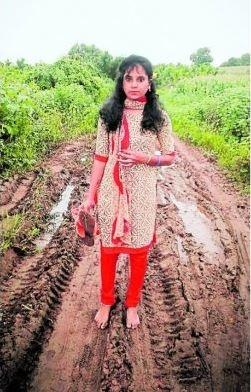 The 26-year-old Bindu R D reached out to the chief minister via mail and said that her village does not have basic facilities like roads and bus services and that she won