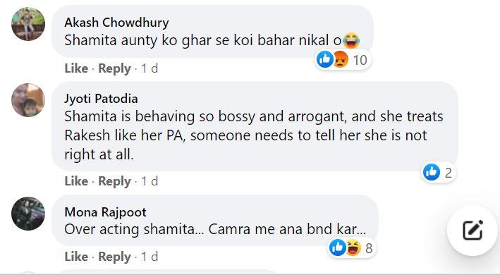 Amidst all the drama, a clip showcasing Shamita