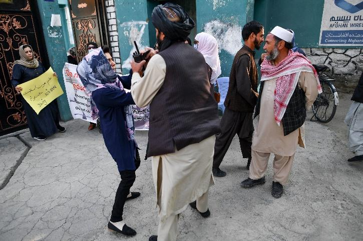 Taliban Women Protest Kabul