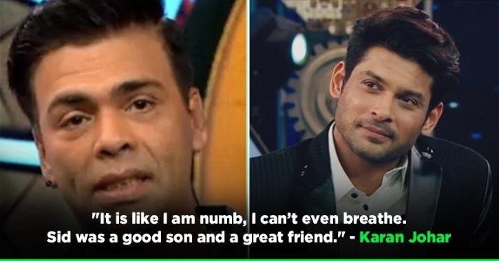 Bigg Boss OTT: Karan Johar Couldn't Hold His Tears During Tribute To Sidharth Shukla, Says I Am Numb