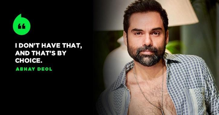 Abhay Deol Gets Brutally Honest, Says He Lacks