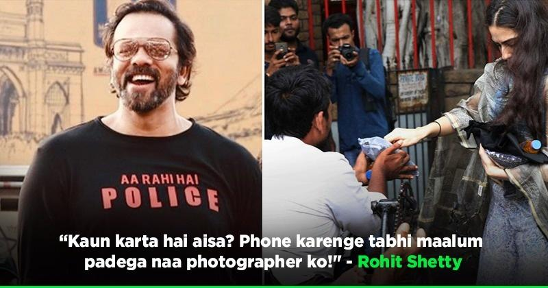 Rohit Shetty Mocks Celebs Who Call Photographers To Capture Them Donating Outside Temples!