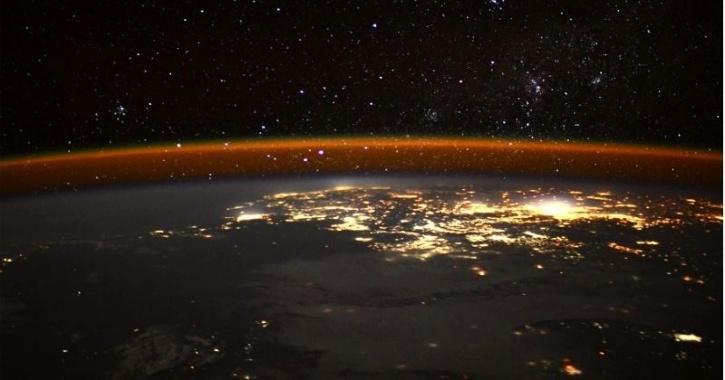 iss edge of earth