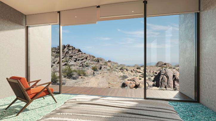 house in the middle of California desert goes on sale for $1.75million