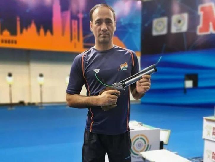 Singhraj Adhana, built his own range during lockdown and won a silver medal at Tokyo Paralympics 2020