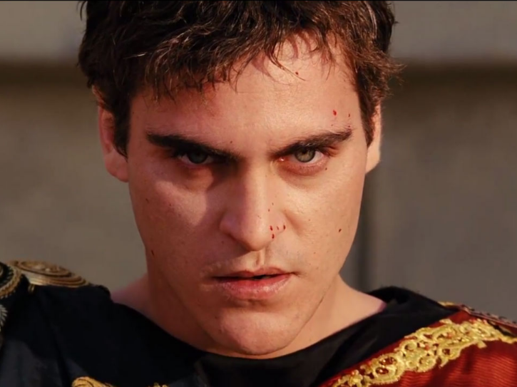 Commodus in Gladiator (Joaquin Phoenix) - Most Hated Villains
