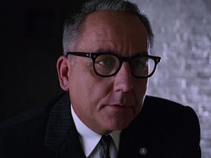 Warden Norton in Shawshank Redemption (Bob Gunton)- Most Hated Villains