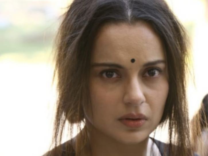 Kangana Ranaut as Jayalalithaa in Thalaivii.