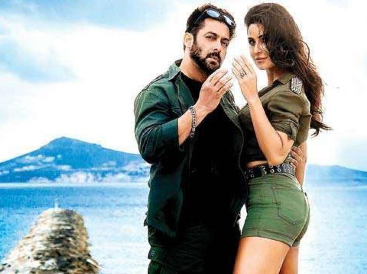 Katrina Kaif and Salman Khan in Swag Se Swagat from Tiger Zinda Hai.